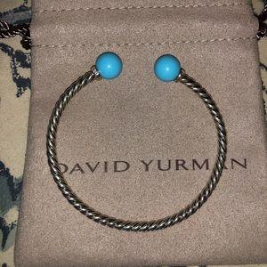 David Yurman Turquoise Solari Bracelet